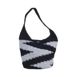 Women's Cappelli Straworld BAG965 Hobo Bag Black