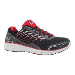 Men's Fila Countdown 2 Running Shoe Black/Fila Red/Dark Silver