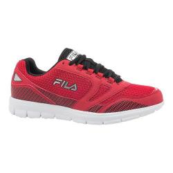 Men's Fila Direction Running Shoe Fila Red/Black/Metallic Silver
