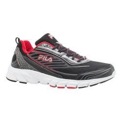 Men's Fila Fila Forward 2 Running Shoe Black/Dark Silver/Fila Red