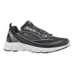 Women's Fila Fila Forward 2 Running Shoe Black/Black/Metallic Silver