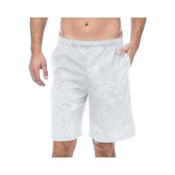 Men's Fila Fundamentals Brushstroke Short White Print