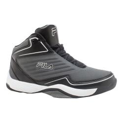 Men's Fila Import Basketball Shoe Pewter/Black/Metallic Silver