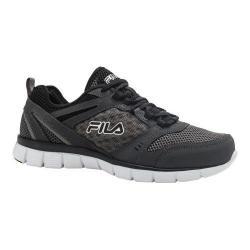 Men's Fila Memory Deluxe SE Running Shoe Castlerock/Castlerock/Black