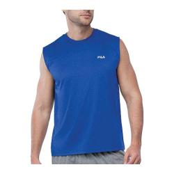 Men's Fila Performance Heather Sleeveless Tank Surf The Web Heather