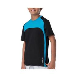 Boys' Fila Pro Colorblock Crew Black/Ocean Blue