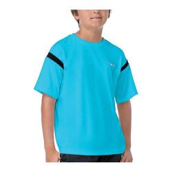 Boys' Fila Pro Crew Neck Top Ocean Blue/Black