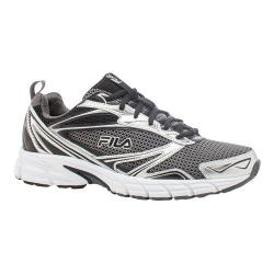 Men's Fila Royalty Running Shoe Castlerock/Metallic Silver/Black