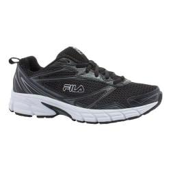Women's Fila Royalty Running Shoe Black/Castlerock/White
