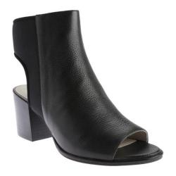 Women's Kenneth Cole New York Charlo Open Toe Bootie Black Leather