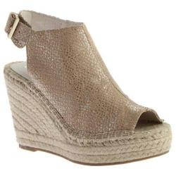 Women's Kenneth Cole New York Olivia Wedge Beige Leather