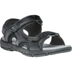 Men's Propet Arlo Active Sandal Black Leather