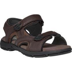 Men's Propet Arlo Active Sandal Brown Leather