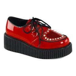 Women's Demonia Creeper 108 Creeper Red Patent/PVC