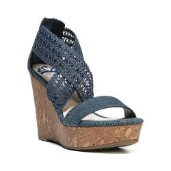 Women's Fergalicious Vanessa Sandal Denim Fabric