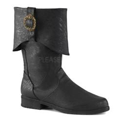 Men's Funtasma Carribean 199 Ankle Boot Black Distressed PU