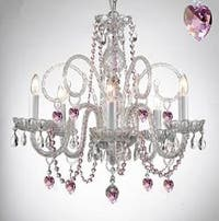 Empress Crystal Plug In Chandelier Lighting