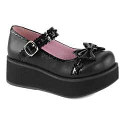 Women's Demonia Sprite 04 Platform Mary Jane Black Vegan Leather/Patent|https://ak1.ostkcdn.com/images/products/98/272/P18142088.jpg?impolicy=medium
