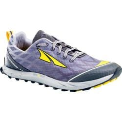 Men's Altra Footwear Superior 2.0 Silver/Cyber Yellow
