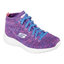 Skechers purple and blue burst shoes size 8 Skechers purple