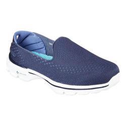 Women's Skechers GOwalk 3 Dominate Slip On NavyBlue | Shopping The Best Deals on Slip ons