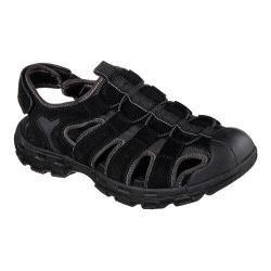 Men's Skechers Relaxed Fit Gander Selmo Fisherman Sandal Black