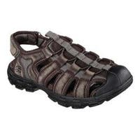 Men's Skechers Relaxed Fit Gander Selmo Fisherman Sandal Brown