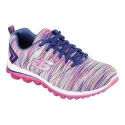 Women's Skechers Skech-Air 2.0 Lace Up Cyclones/Navy/Multi