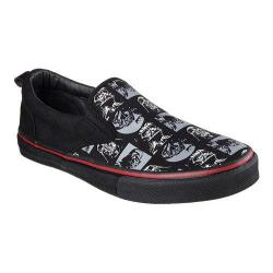 Men's Skechers Star Wars The Menace Sith Lord Slip On Black/Grey/Red