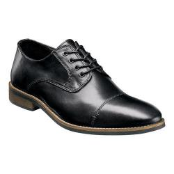 Men's Nunn Bush Holt Cap Toe Oxford Black Leather