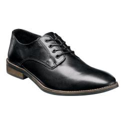 Men's Nunn Bush Howell Plain Toe Oxford Black Leather