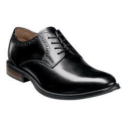 Men's Nunn Bush Riggs Plain Toe Oxford Black Leather