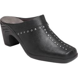 Women's Aerosoles Apple Sawce Mule Black Faux Leather