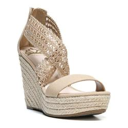 Women's Fergalicious Vanessa Sandal Natural Fabric