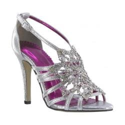 Women's Johnathan Kayne Stella Strappy Sandal Silver Shimmer