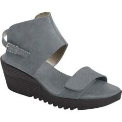 Women's Aerosoles In The Bog Wedge Sandal Chambray Nubuck