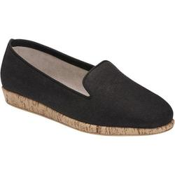 Women's Aerosoles Sunscreen Loafer Black Fabric
