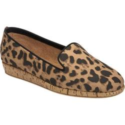 Women's Aerosoles Sunscreen Loafer Leopard Tan Fabric