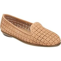 Women's Aerosoles You Betcha Slip-On Light Tan Nubuck