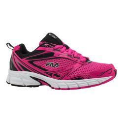 Women's Fila Royalty Running Shoe Pink Glow/Black/White