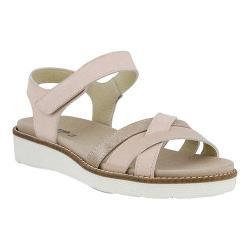 Women's Spring Step Elzira Quarter Strap Sandal Pink Leather
