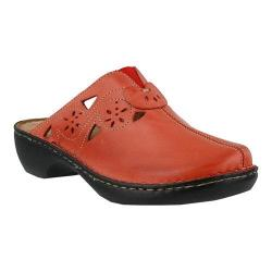 Women's Spring Step Latia Clog Red Leather