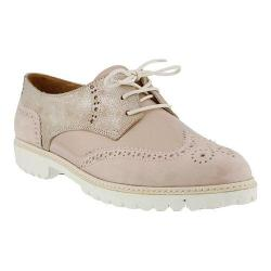 Women's Spring Step Pop Lace Up Shoe Pink Leather/Nubuck