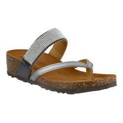 Women's Spring Step Vanja Thong Sandal Pewter Leather