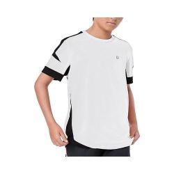 Boys' Fila Adrenaline Contrast Crew White/Black
