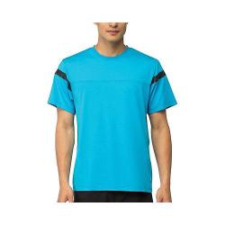 Men's Fila Platinum Color Blocked Crew Ocean Blue/Black