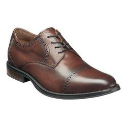 Men's Nunn Bush Ridley Cap Toe Oxford Chestnut Leather