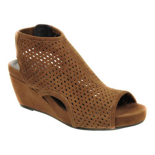 8fb4327888b4 Shop Women s VANELi Inez Wedge Sandal Cuoio Suede - Free Shipping Today -  Overstock.com - 11171360