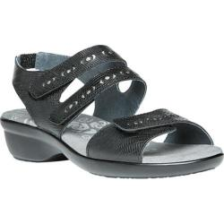 Women's Propet Keeley Sandal Black Leather