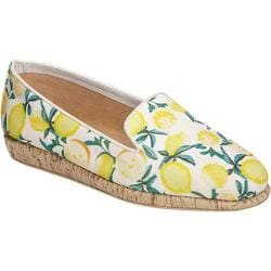 Women's Aerosoles Sunscreen Loafer White Lemon Canvas